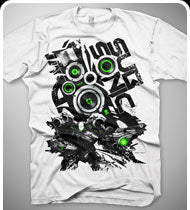 $15!!! EXCISION -Subsonic- T-Shirt - White