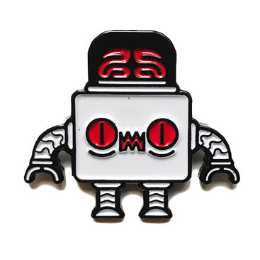 Eptic Robot Lapel Pin