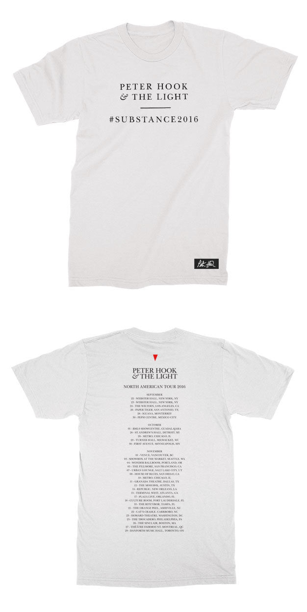 SIGNED!!! PHTL - Substance T-Shirt - White