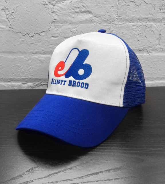 ELLIOTT BROOD -2014 Trucker Hat- Blue