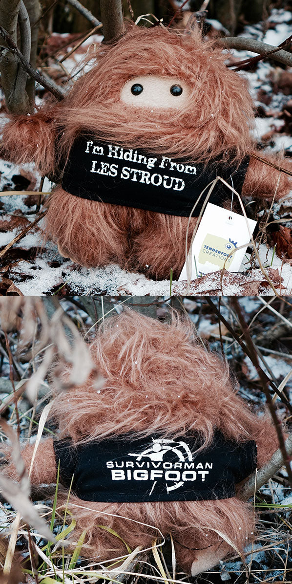 LTD ED. Handmade Survivorman Bigfoot Doll