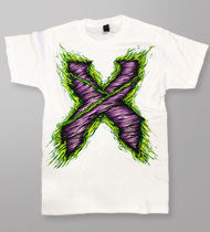 EXCISION -Zombie X- White T-Shirt