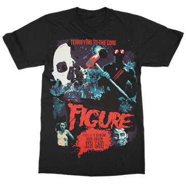 FIGURE Terrifying To The Core Black Tee