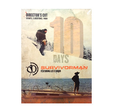 Survivorman - Season - 10 Days DVD Set - Directors Cut