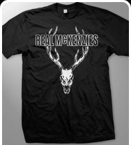 THE REAL MCKENZIES -Stag- Guys T-Shirt - Black