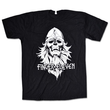 FINGER 11 - Viking - Black T-Shirt