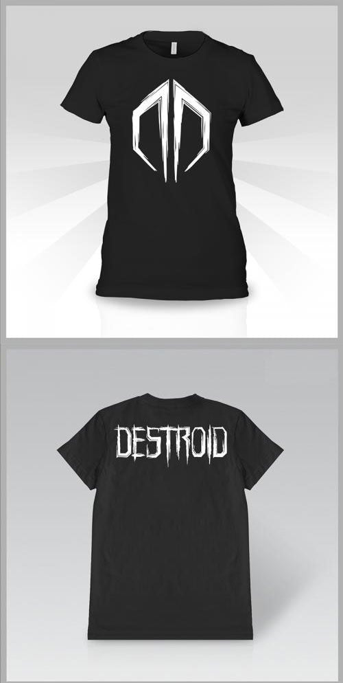 EXCISION -Destroid Logo- Girls T-Shirt