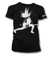 The Balconies Lunge Girls Black T-Shirt
