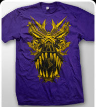 EXCISION -T-Rex- T-Shirt - Purple