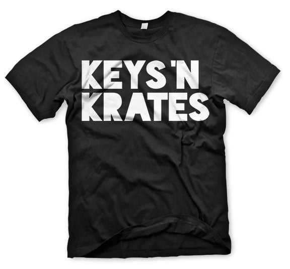 KEYS N KRATES -2015 Logo- Black T-Shirt