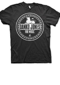 DANKO JONES -Fire Music- Black Tee