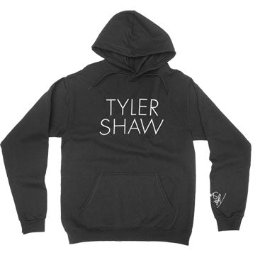 Tyler Shaw - Signature - Black Pullover Hoodie