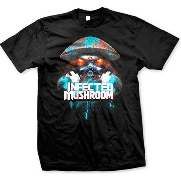 INFECTED MUSHROOM -Doom Shroom- T-Shirt - Black
