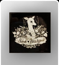 SARAH BLACKWOOD -Bambi- Square Pin