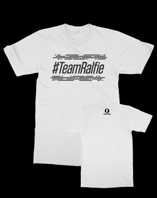 TNS - Team Ralfie - White Tee