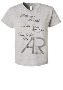 Alyssa Reid Sleep Alone Unisex V-Neck Gray Tee