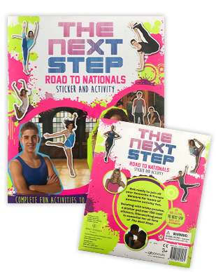 The Next Step 2016 - Road To Nationals Sticker + Activity Book