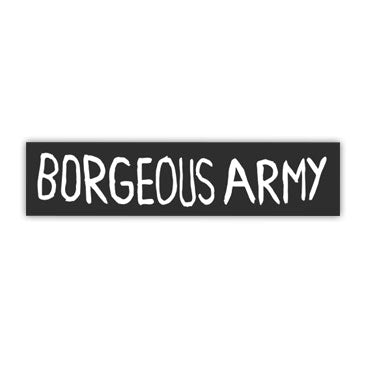 Borgeous - Borgeous Army Sticker