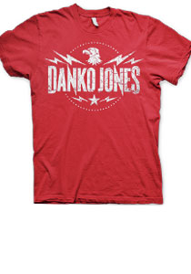 DANKO JONES -Eagle Crest- Red Tee