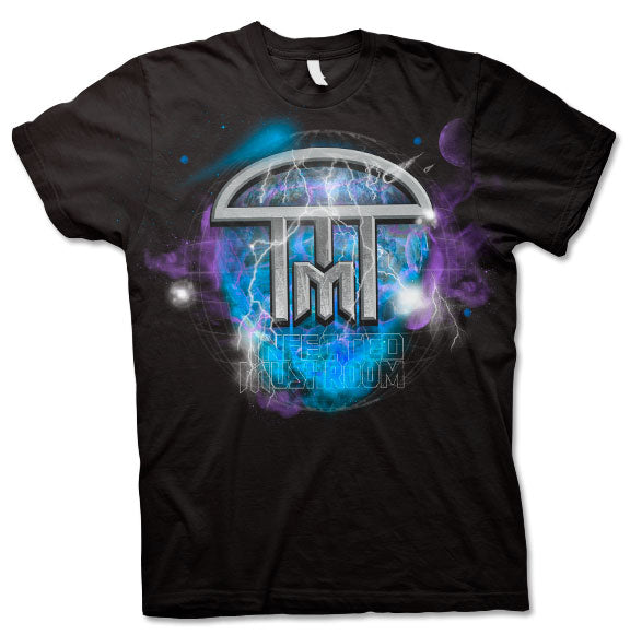 INFECTED MUSHROOM -Infected Planet- T-Shirt - Black
