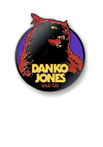 DANKO JONES -Wildcat- Lapel Pin