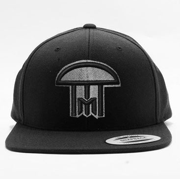 IM - New Puff - Snapback Hat - Black