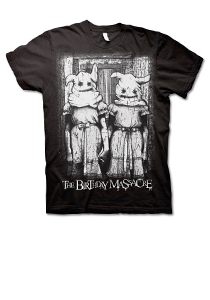 THE BIRTHDAY MASSACRE -Twins- T-Shirt - Black