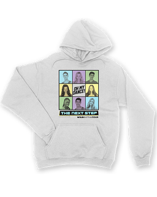 The Next Step 2016 - Square Dancing - Pullover White Hoodie