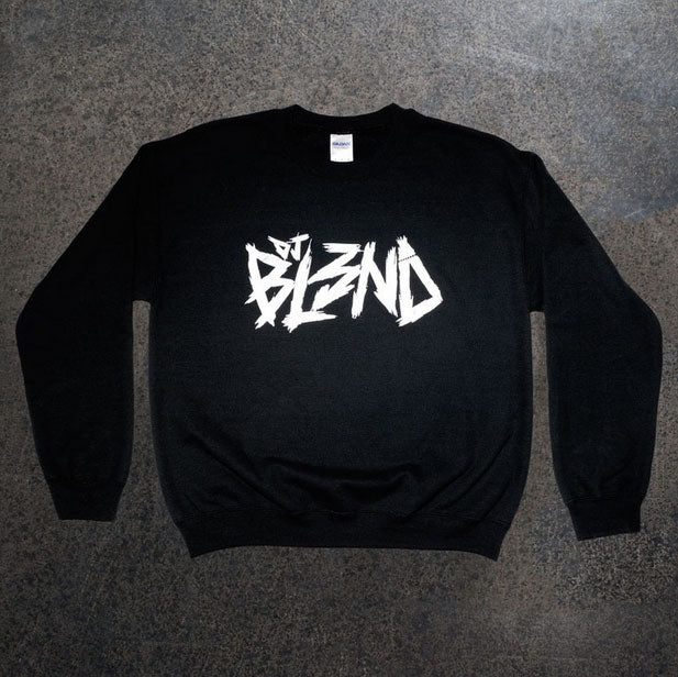 DJ BL3ND -Logo- Black Crew Sweatshirt
