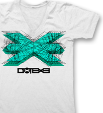 DotEXE -Wired- T-Shirt/V-Neck - White