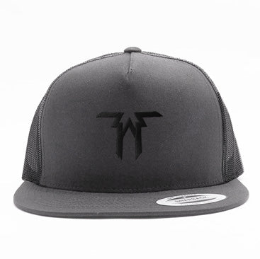 Five Alarm Funk - Logo - Black on Gray Trucket Hat