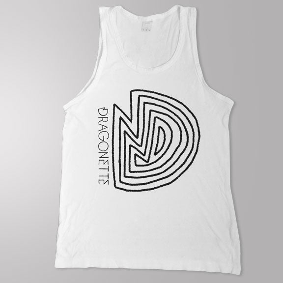DRAGONETTE -D Logo- Tank Top - White