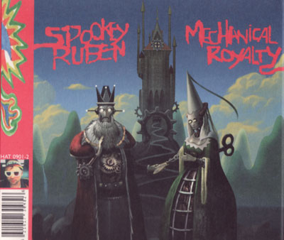 SPOOKEY RUBEN Mechanical Royalty CD (official full-length)