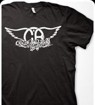 COLIN & BRAD -Logo- T-Shirt - Black