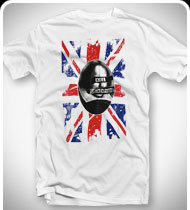 KILL SHAKESPEARE God Save the Bard T-Shirt - White