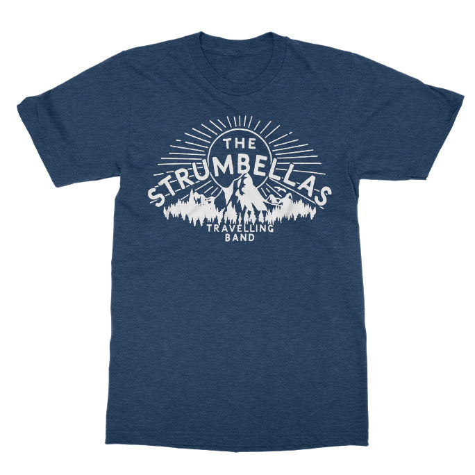 The Strumbellas Travelling Band Heather Navy Tee