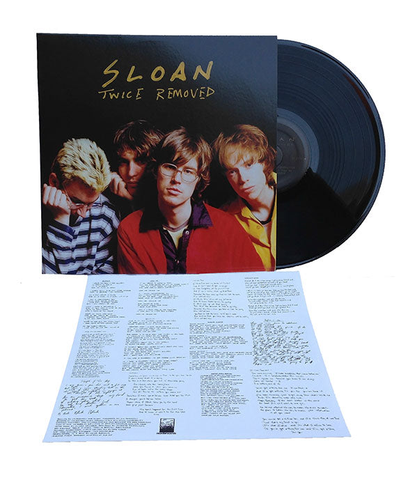 Sloan - Twice Removed LP Reissue
