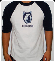 THE SADIES Guys Wiley Baseball Shirt - Blue/Wht