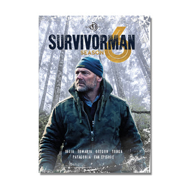 NEW! Survivorman - Season 6 DVD - 2 Disc Set
