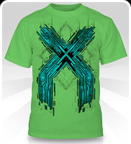 EXCISION -Metal X- Green T-Shirt