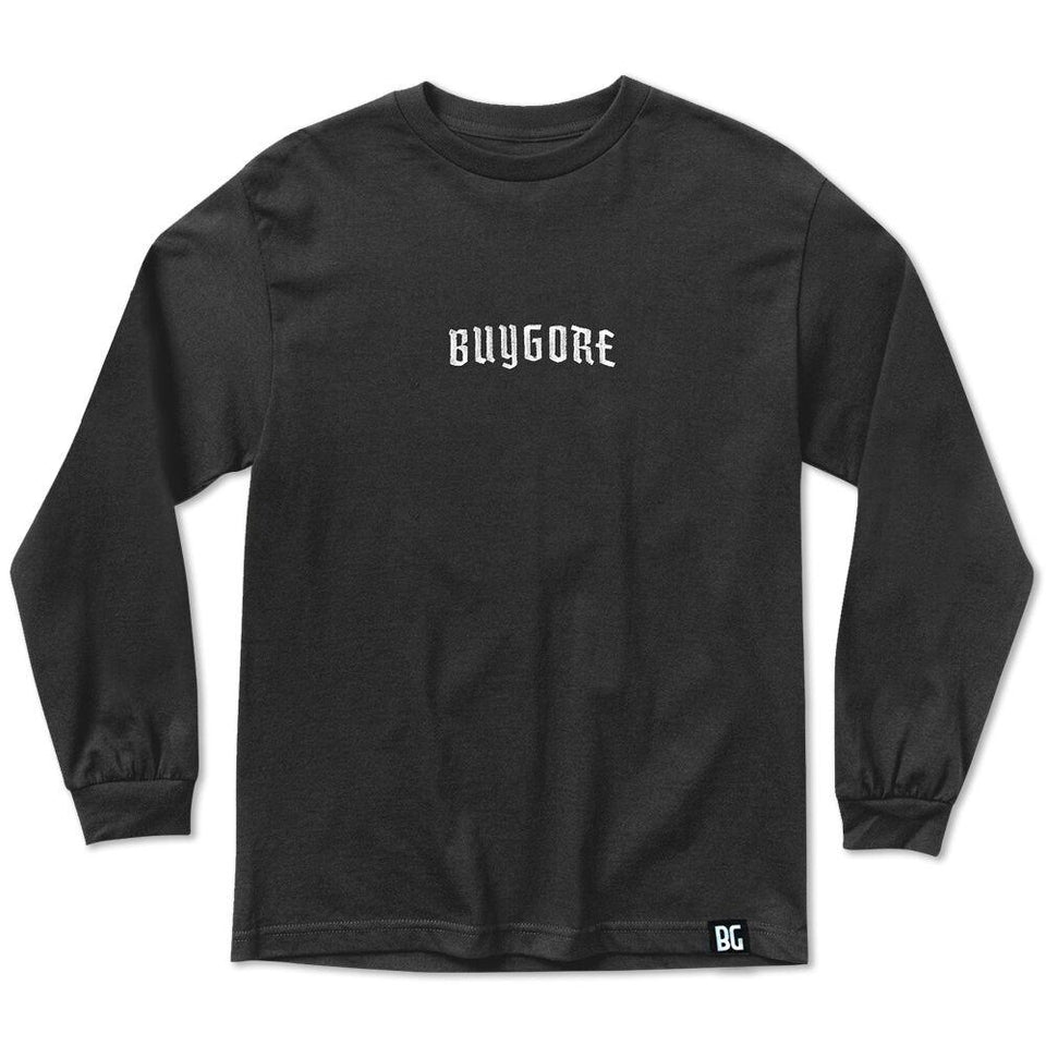Buygore - Death Letter - Long Sleeve Tee