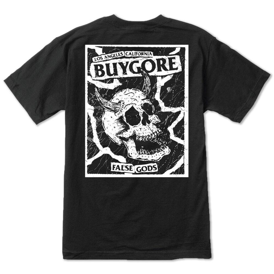 Buygore - False Gods - Black Tee