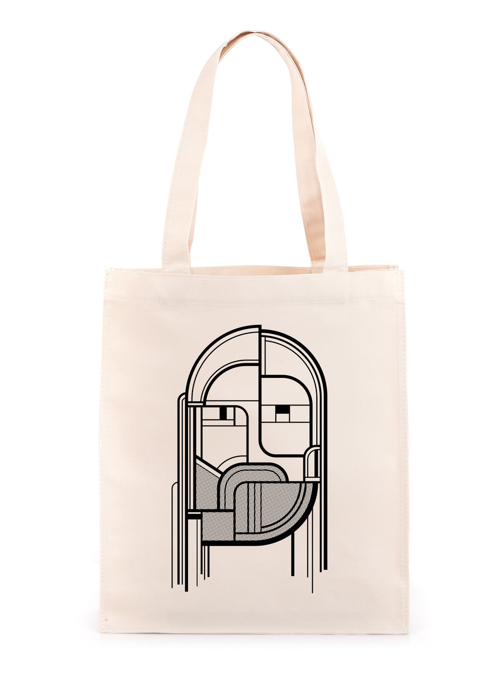 Júníus Meyvant - Face - Natural Tote Bag