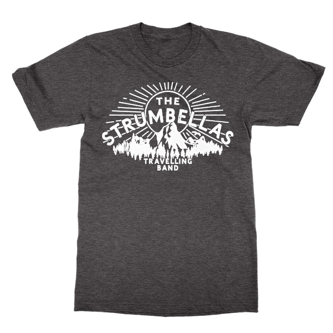 The Strumbellas Travelling Band - Heather Charcoal Tee