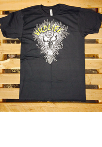 WILDLIFE -Mask- Guys Charcoal Gray Tee