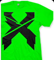 EXCISION -Sliced Up- T-Shirt - Lime Green