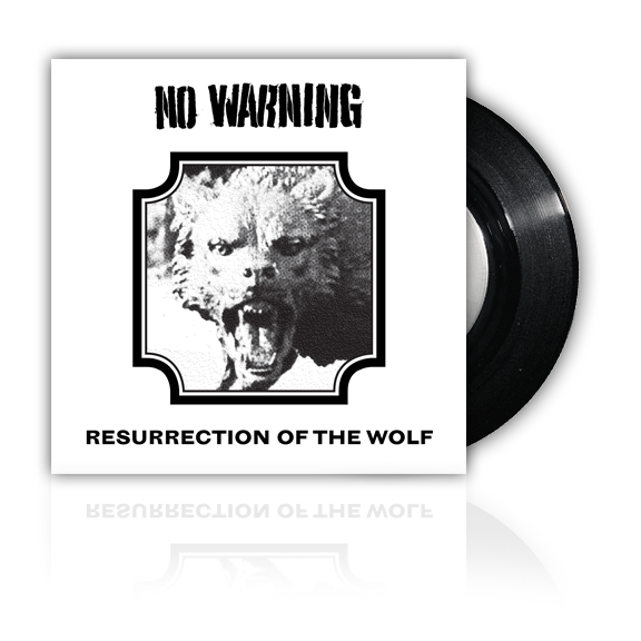 NO WARNING  -ROTW- 7inch EP