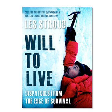 Survivorman Book - Will To Live