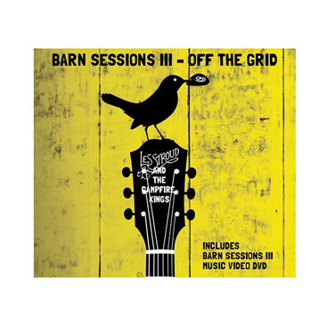 Survivorman - Barn Sessions III - CD/DVD