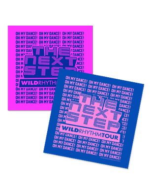 The Next Step 2016 - Wild Rhythm Tour Bandanas